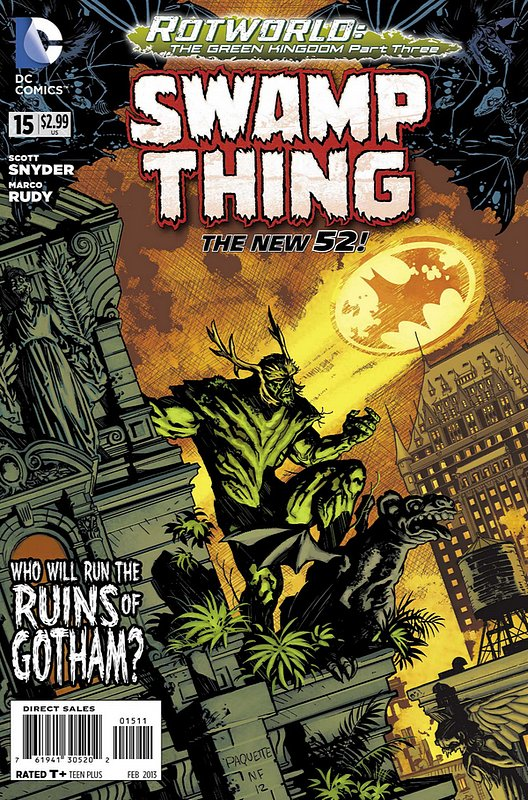 Cover of Swamp Thing (Vol 5) #15. One of 250,000 Vintage American Comics on sale from Krypton!