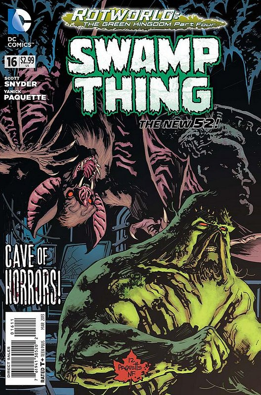 Cover of Swamp Thing (Vol 5) #16. One of 250,000 Vintage American Comics on sale from Krypton!