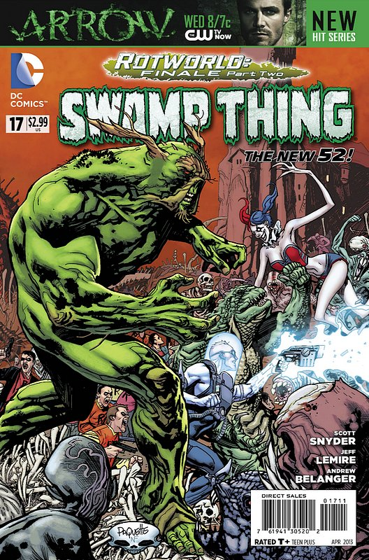 Cover of Swamp Thing (Vol 5) #17. One of 250,000 Vintage American Comics on sale from Krypton!
