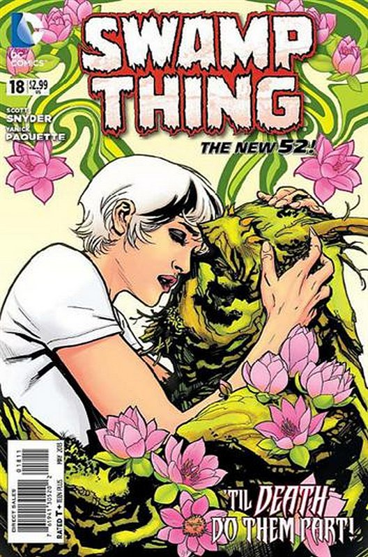 Cover of Swamp Thing (Vol 5) #18. One of 250,000 Vintage American Comics on sale from Krypton!