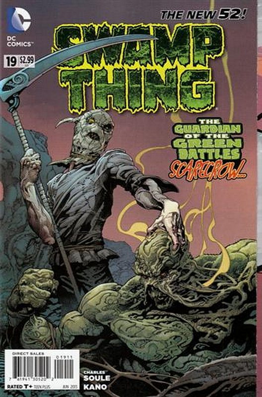 Cover of Swamp Thing (Vol 5) #19. One of 250,000 Vintage American Comics on sale from Krypton!
