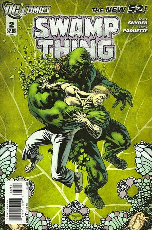 Cover of Swamp Thing (Vol 5) #2. One of 250,000 Vintage American Comics on sale from Krypton!
