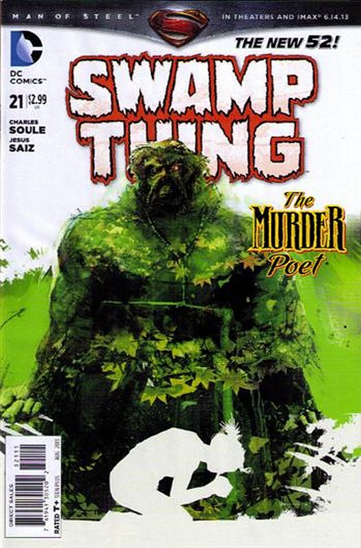 Cover of Swamp Thing (Vol 5) #21. One of 250,000 Vintage American Comics on sale from Krypton!