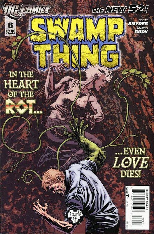 Cover of Swamp Thing (Vol 5) #6. One of 250,000 Vintage American Comics on sale from Krypton!