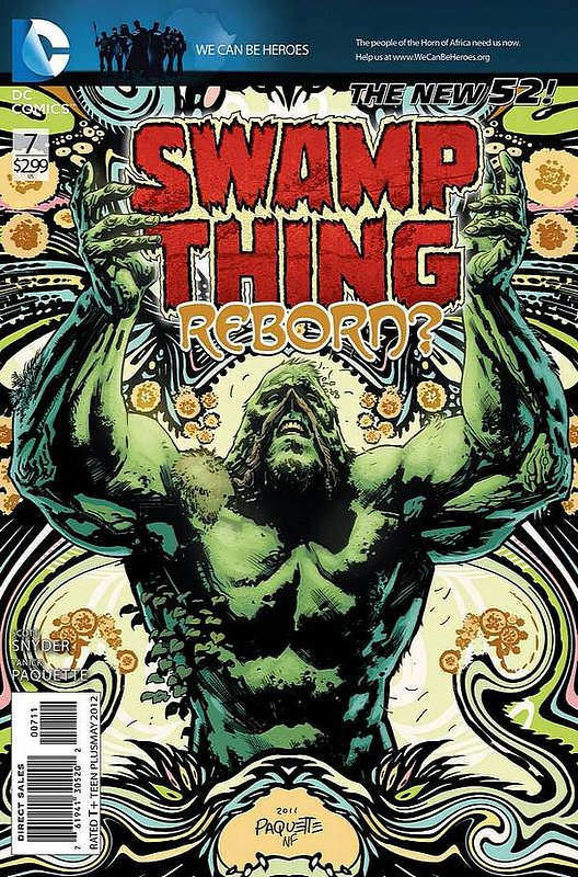 Cover of Swamp Thing (Vol 5) #7. One of 250,000 Vintage American Comics on sale from Krypton!