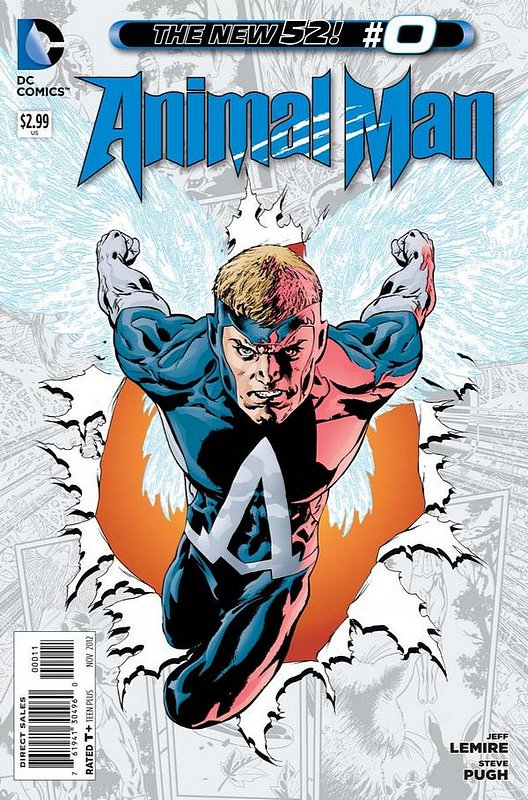 Cover of Animal Man (Vol 2) #0. One of 250,000 Vintage American Comics on sale from Krypton!