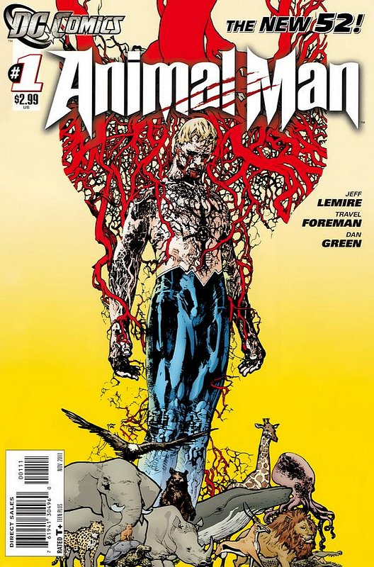 Cover of Animal Man (Vol 2) #1. One of 250,000 Vintage American Comics on sale from Krypton!