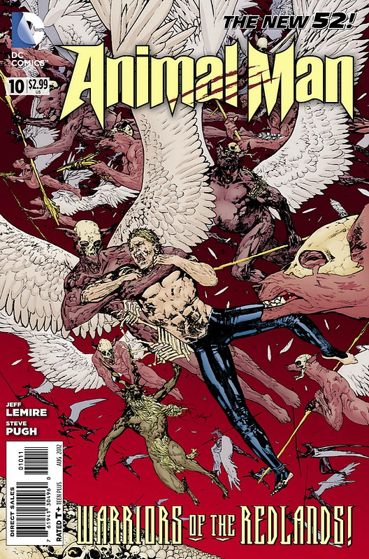 Cover of Animal Man (Vol 2) #10. One of 250,000 Vintage American Comics on sale from Krypton!