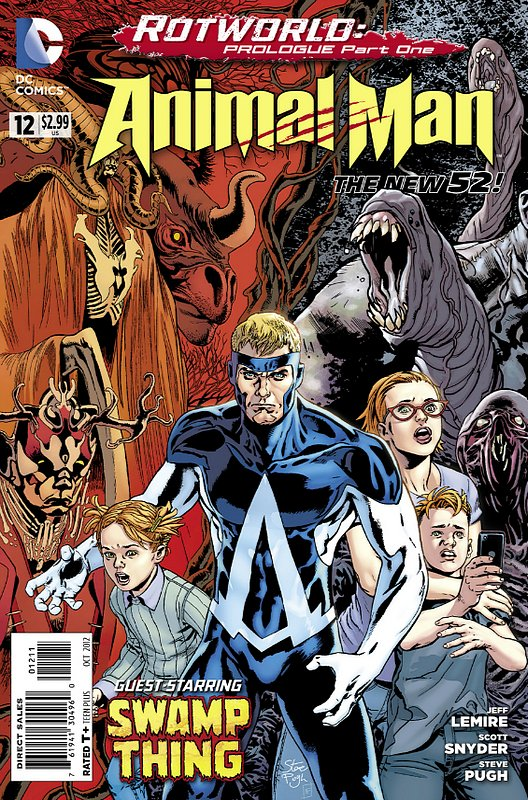 Cover of Animal Man (Vol 2) #12. One of 250,000 Vintage American Comics on sale from Krypton!