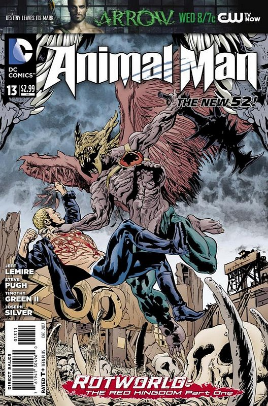 Cover of Animal Man (Vol 2) #13. One of 250,000 Vintage American Comics on sale from Krypton!
