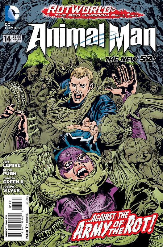 Cover of Animal Man (Vol 2) #14. One of 250,000 Vintage American Comics on sale from Krypton!