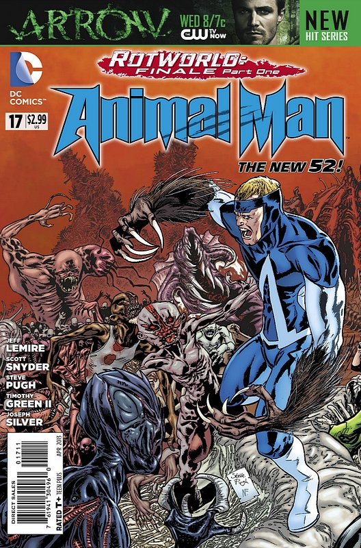 Cover of Animal Man (Vol 2) #17. One of 250,000 Vintage American Comics on sale from Krypton!
