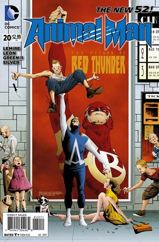 Cover of Animal Man (Vol 2) #20. One of 250,000 Vintage American Comics on sale from Krypton!
