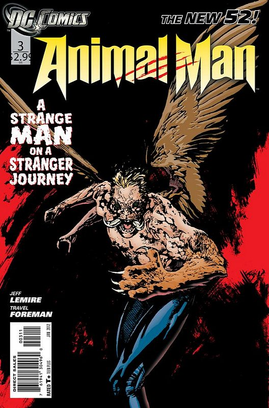 Cover of Animal Man (Vol 2) #3. One of 250,000 Vintage American Comics on sale from Krypton!
