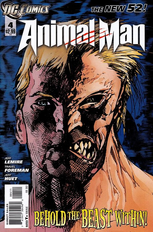 Cover of Animal Man (Vol 2) #4. One of 250,000 Vintage American Comics on sale from Krypton!