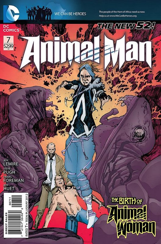 Cover of Animal Man (Vol 2) #7. One of 250,000 Vintage American Comics on sale from Krypton!