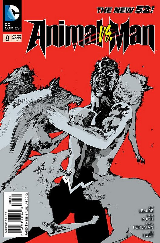 Cover of Animal Man (Vol 2) #8. One of 250,000 Vintage American Comics on sale from Krypton!