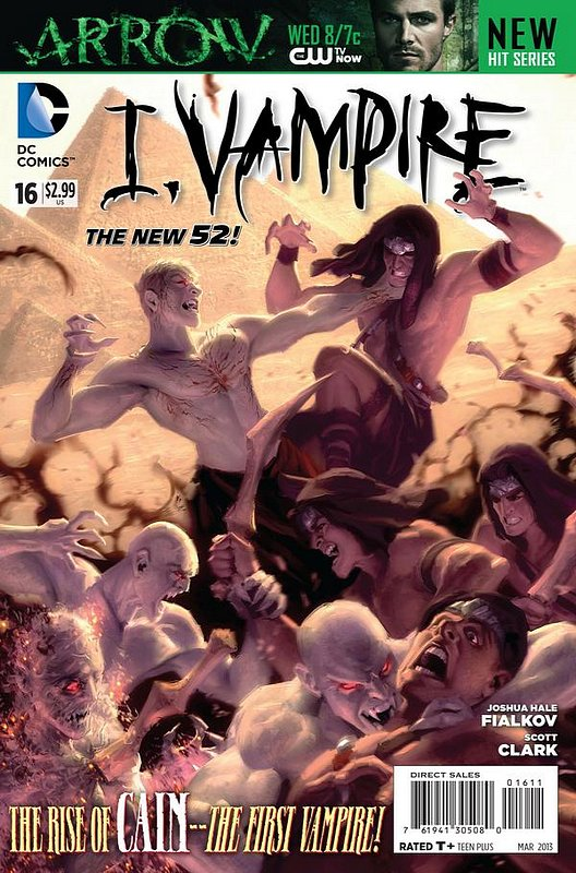 Cover of I Vampire (Vol 1) #16. One of 250,000 Vintage American Comics on sale from Krypton!