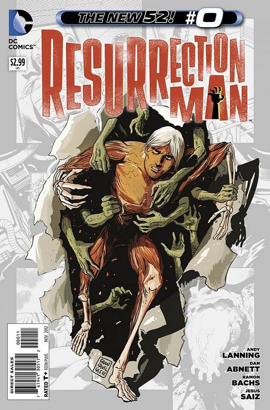 Cover of Resurrection Man (Vol 2) #0. One of 250,000 Vintage American Comics on sale from Krypton!