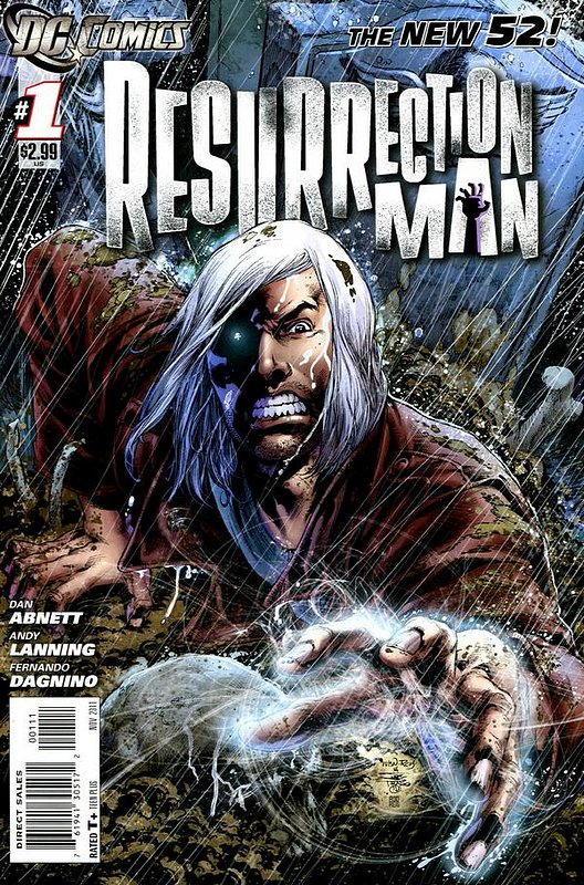 Cover of Resurrection Man (Vol 2) #1. One of 250,000 Vintage American Comics on sale from Krypton!