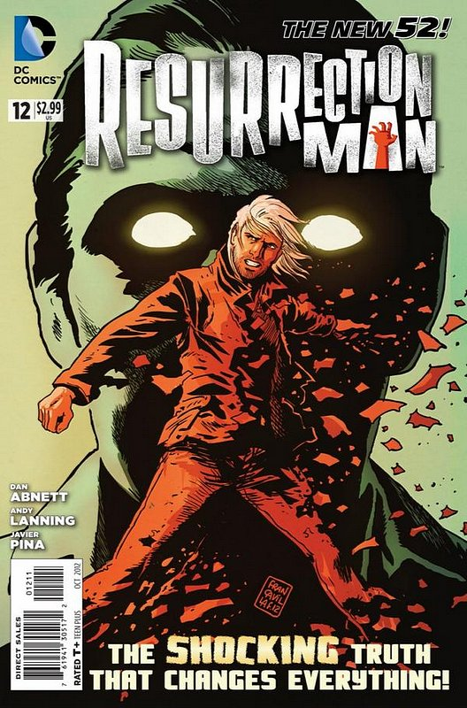 Cover of Resurrection Man (Vol 2) #12. One of 250,000 Vintage American Comics on sale from Krypton!