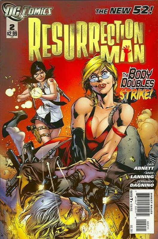 Cover of Resurrection Man (Vol 2) #2. One of 250,000 Vintage American Comics on sale from Krypton!