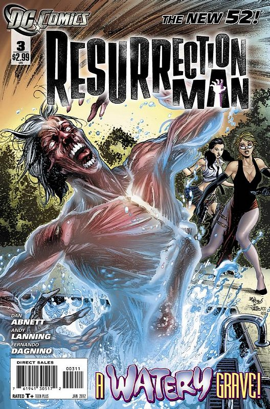 Cover of Resurrection Man (Vol 2) #3. One of 250,000 Vintage American Comics on sale from Krypton!