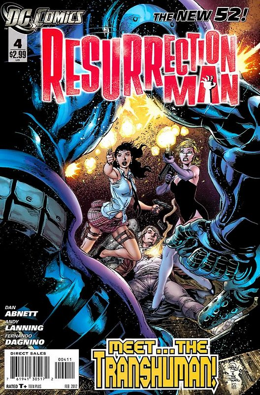 Cover of Resurrection Man (Vol 2) #4. One of 250,000 Vintage American Comics on sale from Krypton!
