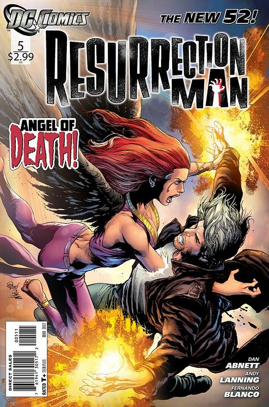 Cover of Resurrection Man (Vol 2) #5. One of 250,000 Vintage American Comics on sale from Krypton!