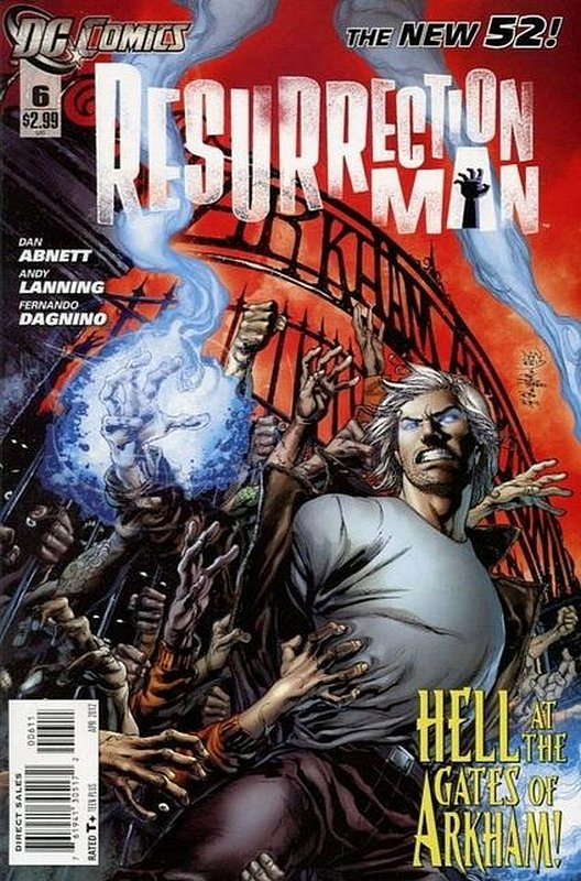 Cover of Resurrection Man (Vol 2) #6. One of 250,000 Vintage American Comics on sale from Krypton!