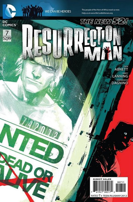 Cover of Resurrection Man (Vol 2) #7. One of 250,000 Vintage American Comics on sale from Krypton!