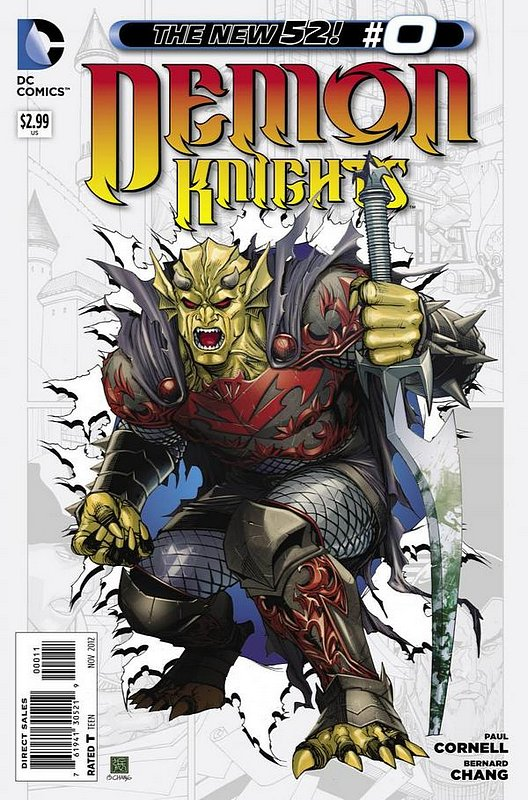 Cover of Demon Knights (Vol 1) #0. One of 250,000 Vintage American Comics on sale from Krypton!