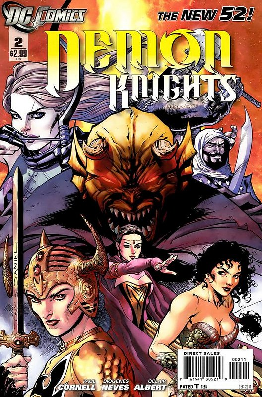 Cover of Demon Knights (Vol 1) #2. One of 250,000 Vintage American Comics on sale from Krypton!