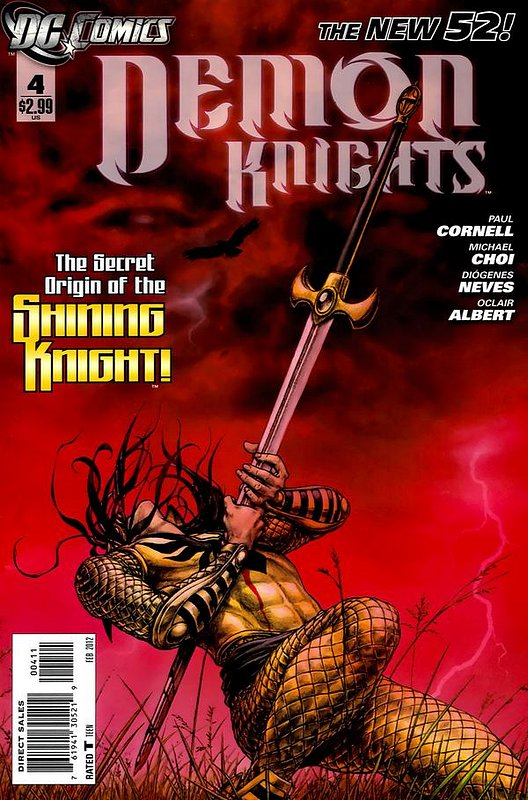 Cover of Demon Knights (Vol 1) #4. One of 250,000 Vintage American Comics on sale from Krypton!