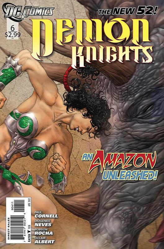 Cover of Demon Knights (Vol 1) #6. One of 250,000 Vintage American Comics on sale from Krypton!