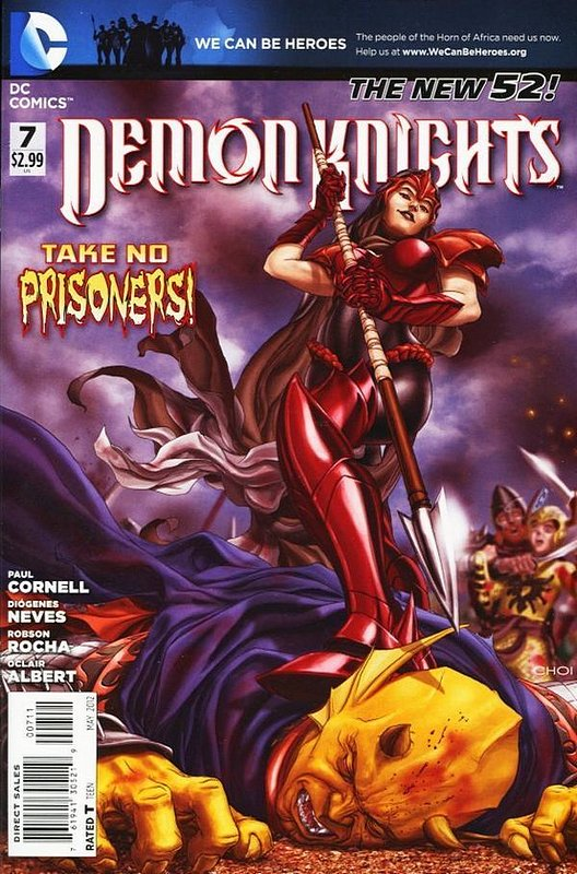 Cover of Demon Knights (Vol 1) #7. One of 250,000 Vintage American Comics on sale from Krypton!