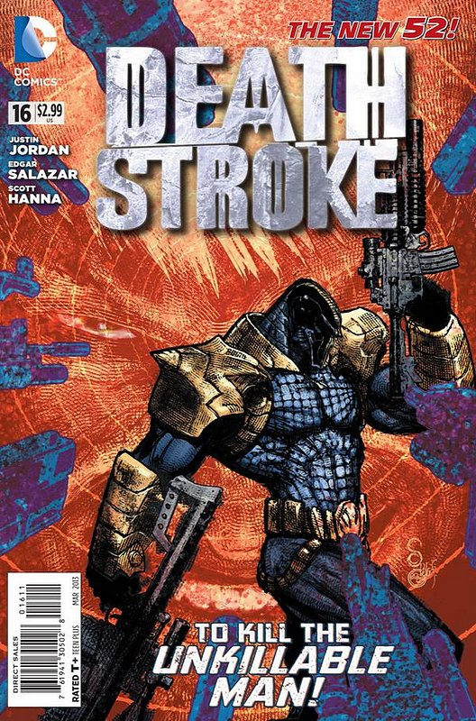Cover of Deathstroke (Vol 2) #16. One of 250,000 Vintage American Comics on sale from Krypton!