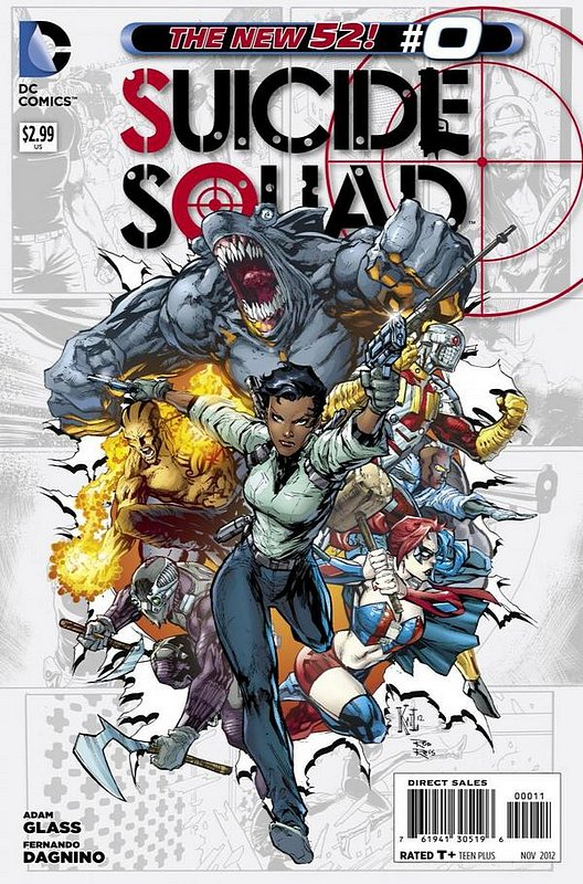 Cover of Suicide Squad (Vol 3) #0. One of 250,000 Vintage American Comics on sale from Krypton!
