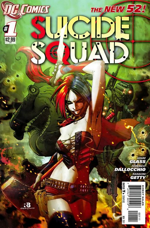 Cover of Suicide Squad (Vol 3) #1. One of 250,000 Vintage American Comics on sale from Krypton!