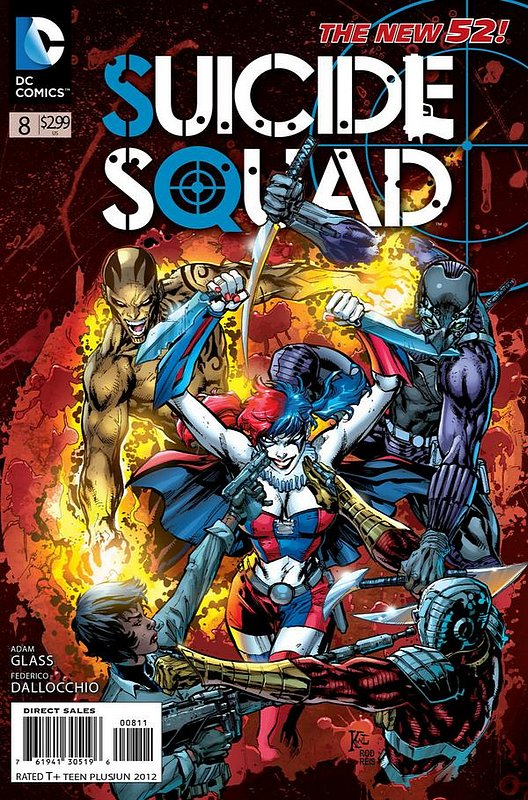 Cover of Suicide Squad (Vol 3) #8. One of 250,000 Vintage American Comics on sale from Krypton!
