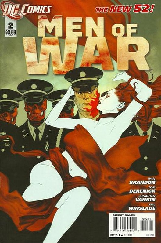 Cover of Men of War (Vol 2) #2. One of 250,000 Vintage American Comics on sale from Krypton!