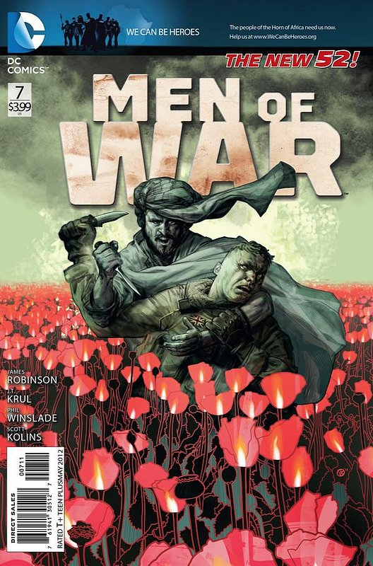 Cover of Men of War (Vol 2) #7. One of 250,000 Vintage American Comics on sale from Krypton!