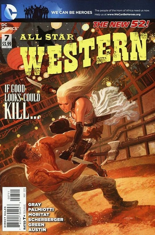 Cover of All-Star Western (Vol 3) #7. One of 250,000 Vintage American Comics on sale from Krypton!