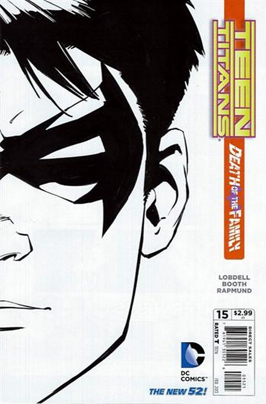 Cover of Teen Titans (Vol 4) #15. One of 250,000 Vintage American Comics on sale from Krypton!