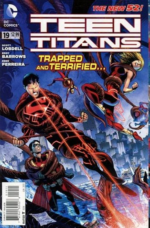Cover of Teen Titans (Vol 4) #19. One of 250,000 Vintage American Comics on sale from Krypton!