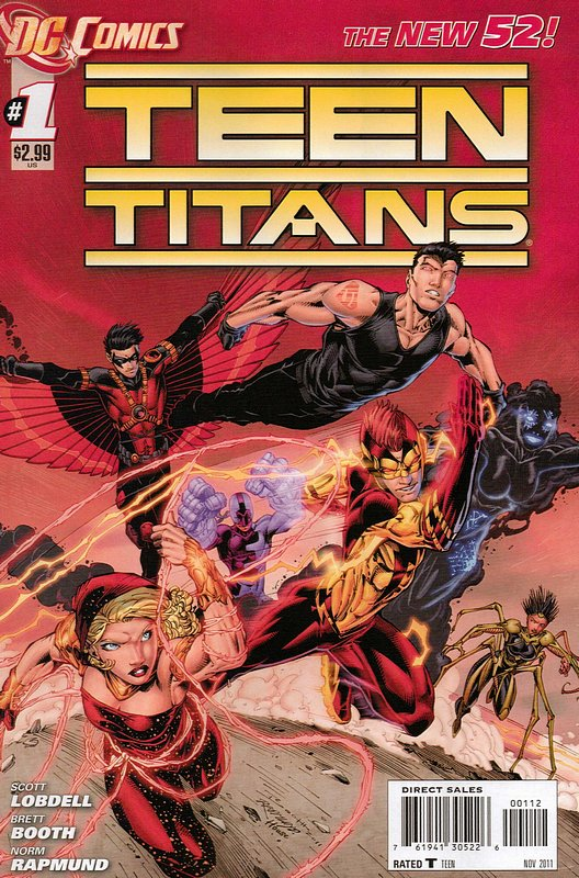 Cover of Teen Titans (Vol 4) #1. One of 250,000 Vintage American Comics on sale from Krypton!