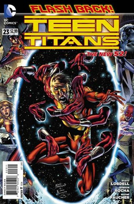 Cover of Teen Titans (Vol 4) #23. One of 250,000 Vintage American Comics on sale from Krypton!