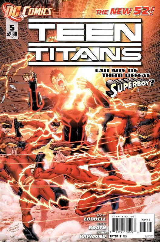 Cover of Teen Titans (Vol 4) #5. One of 250,000 Vintage American Comics on sale from Krypton!