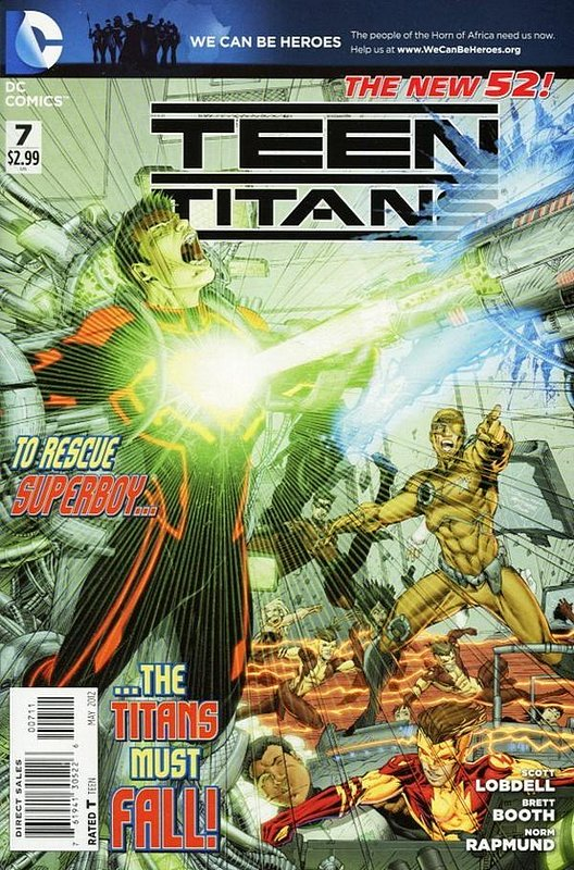 Cover of Teen Titans (Vol 4) #7. One of 250,000 Vintage American Comics on sale from Krypton!