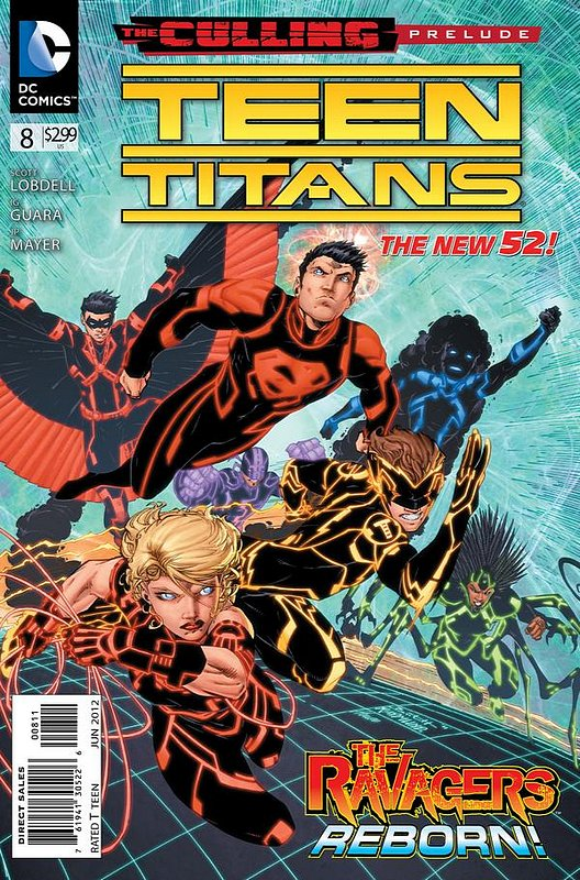 Cover of Teen Titans (Vol 4) #8. One of 250,000 Vintage American Comics on sale from Krypton!